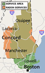 Our New Hampshire Service Area