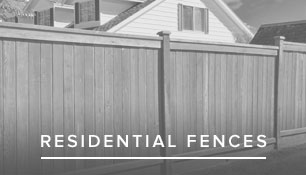 Residential fence installation in VA