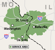 Our Missouri Service Area