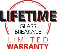 Lifetime Glass Breakage Limited Warranty