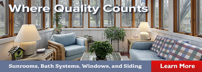 JACOB offers sunrooms, bath systems, windows, and siding services in Greater St. Louis