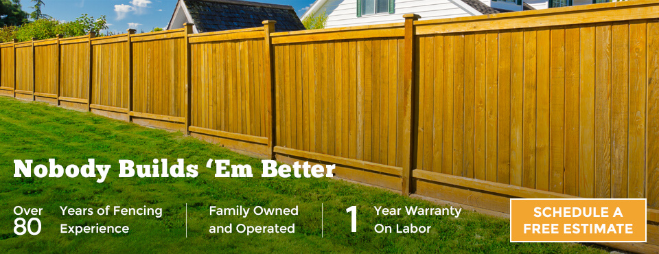 Fencing Contractors Serving Connecticut!