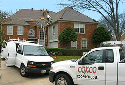 Roofing Services by Coxco Roofing!