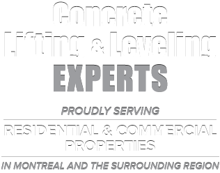 Professional Concrete Leveling Services in Greater Montreal