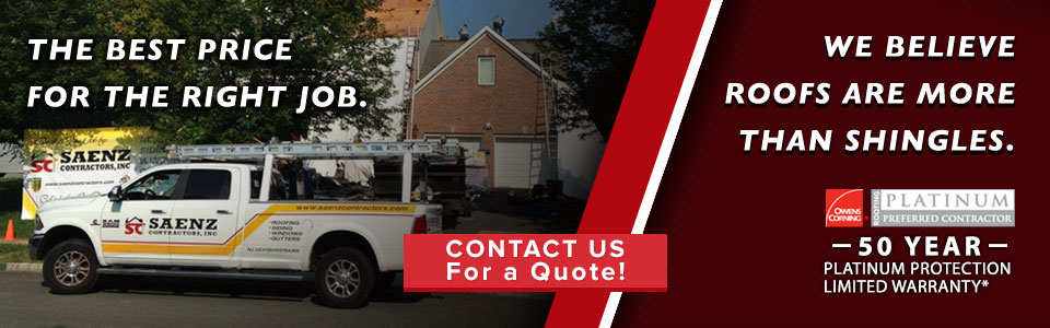 We are the New Jersey Roofing Experts!