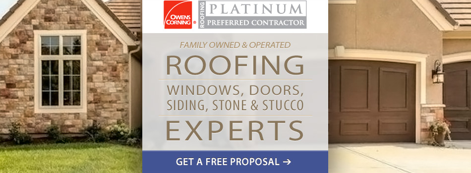 We are the Missouri Roofing Experts!