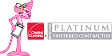 Owens Corning Platinum Preferred Contractor