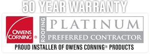 ARAC Roof It Forward is an Owens Corning Platinum Preferred Contractor