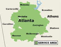 Our Georgia Service Area