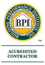 Building Performance Institute Inc Accredited Contractor