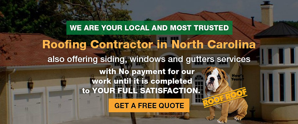 Experienced Roofing Contractor in Greater Charlotte