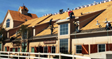 Commercial roof repair and replacement