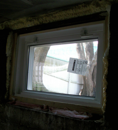 Basement replacement windows rainy season in ma nh for Basement window replacement