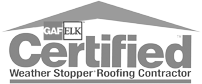 GAF-ELK Certified Weather Stopper Roofing Contractor