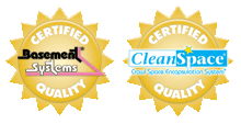 Certified Basement Systems & CleanSpace Quality
