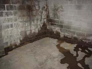 Basement water leakage