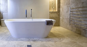 Freestanding tub installation in Chicago
