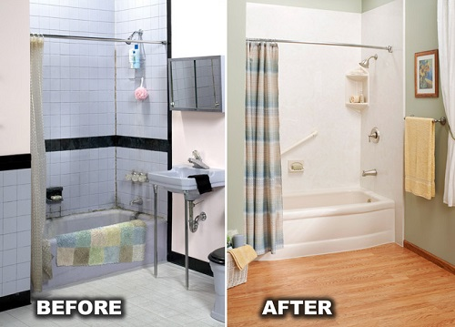 One Day Bathroom Remodel Interesting One Day Bathroom Remodel Toledo Sylvania Temperance Oh And Mi Decorating Design