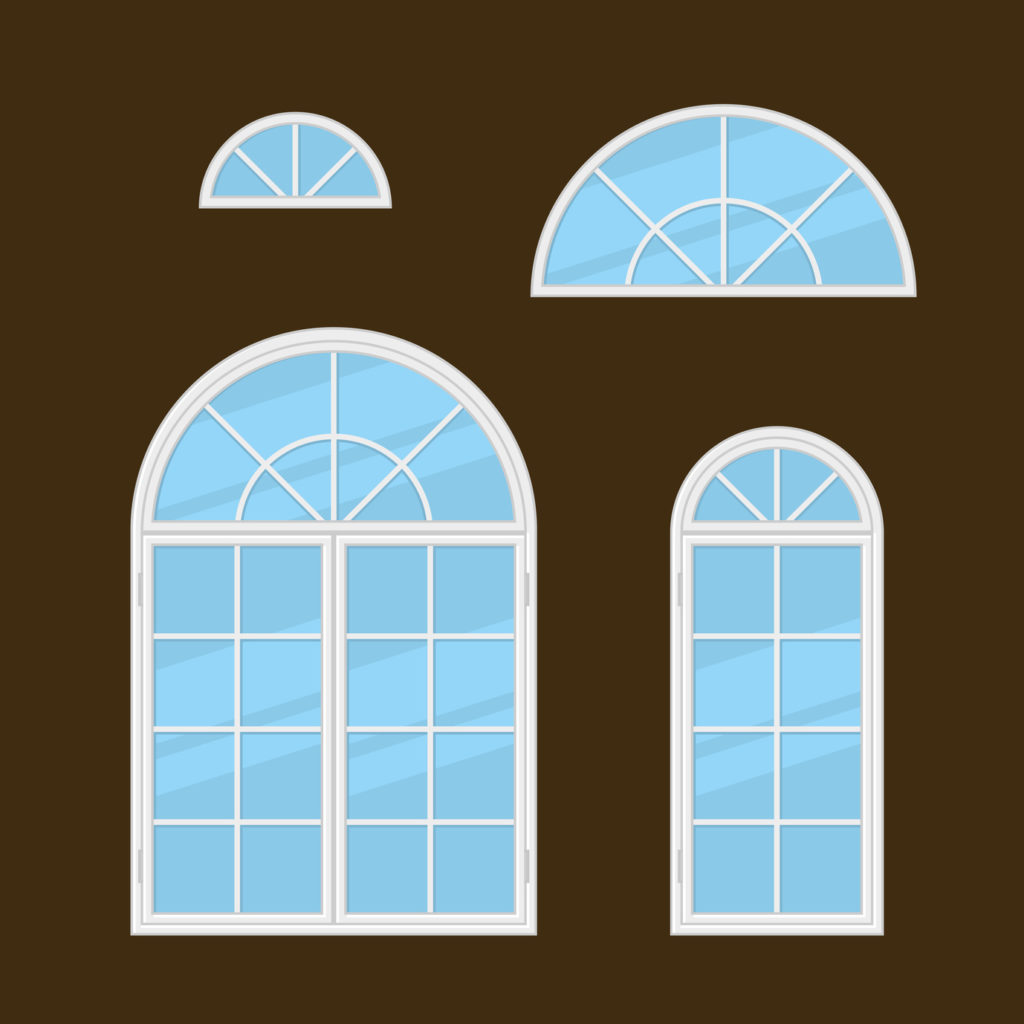4 window treatment ideas for arched windows for Arch window replacement