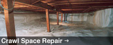 We Are Greater Colorado Crawl Space Repair Experts! - Learn More