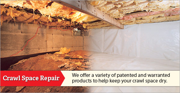 We are the Delaware &  Maryland Crawl Space Experts!