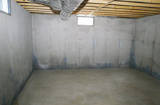 Waterproofing your basement step 1