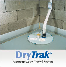 DryTrak® is a smart drainage system solution for monolithic basement floors