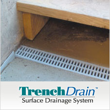 TrenchDrain keeps water out of your entryway