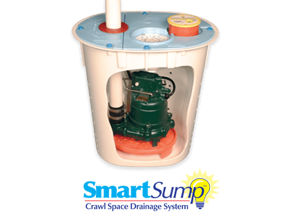 SmartSump™ Sump Pump for CrawlSpaces