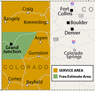 Our Colorado Service Area