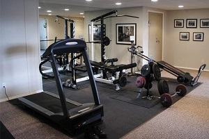 Interested in a home gym? Total Basement Finishing will help you design and install the perfect gym for your basement....