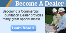 Sign Up to Become A Foundation Repair Dealer