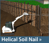Helical Soil Nails