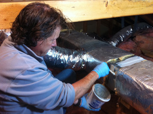 Local experts for duct sealing and indoor air quality improvement