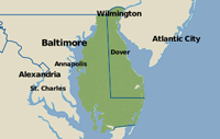 Our Delaware & E. Shore Maryland Service Area