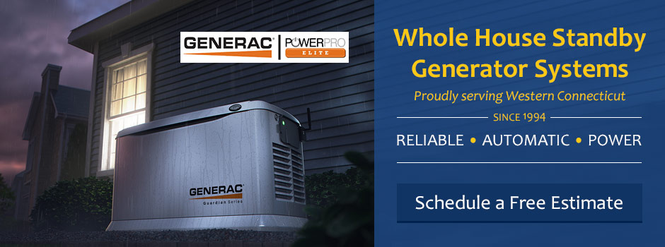 Whole House Standby Generator Systems In Connecticut!