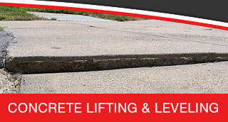Concrete Leveling and Lifting Services in Greater San Antonio & South Texas