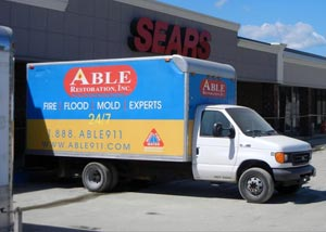 The Able Restoration Truck At Sears