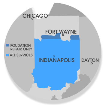 Indiana Foundation Service area
