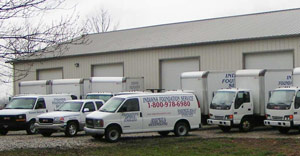 Indiana Foundation Service trucks