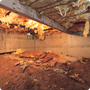 Crawl Space Repair in Rogers, Fayetteville, Springdale, Little Rock