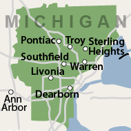 Our Michigan Service Area