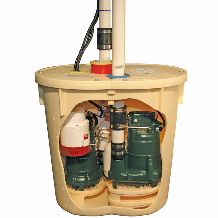 TripleSafe sump pump for installation in Ohsweken, ON