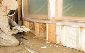 Foam insulation services in Missouri and Illinois