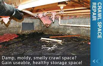 We Are Greater Montana Crawl Space Repair Experts! - Learn More