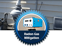 >Radon Gas Mitigation