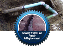 Sewer/ Water Line Repair & Replacement