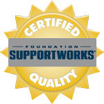 Davenport Foundation Repair is Foundation SupportWorks Certified
