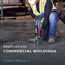 Concrete slab lifting for Commercial Buildings