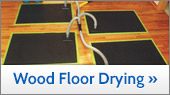 Hardwood Floor Drying In Greater Kansas City
